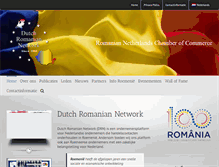 Tablet Preview of dutchromaniannetwork.nl